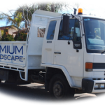 Premium Paving and Landscape truck
